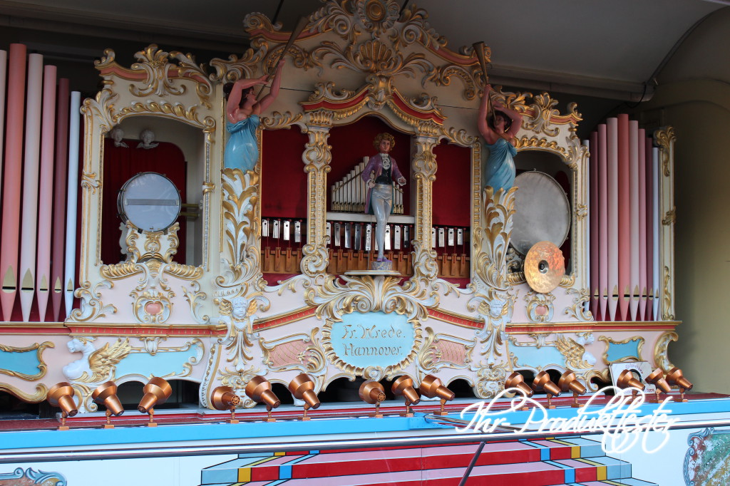 Christkindlmarkt Wiedenbrück: Konzertorgel