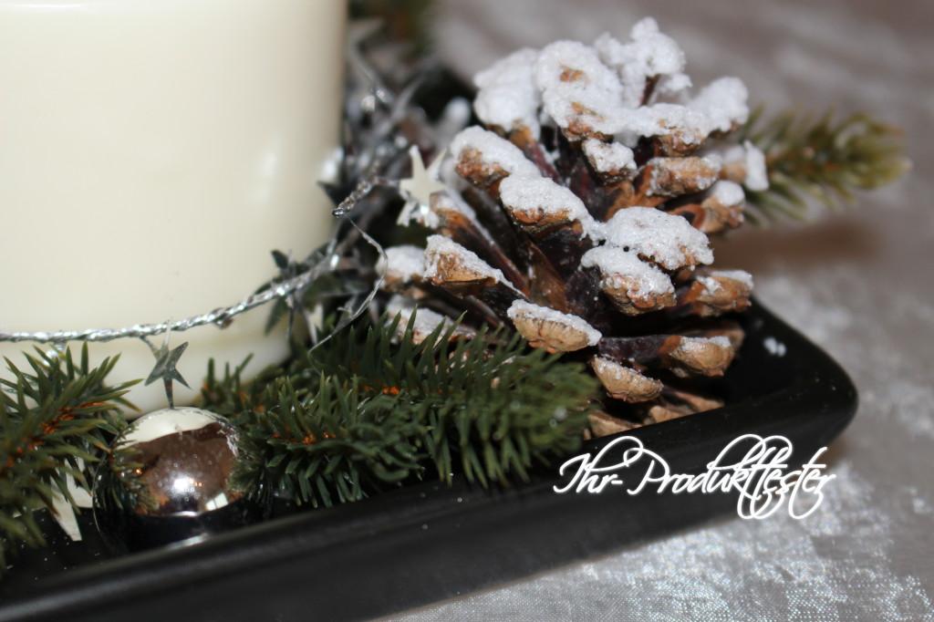 DIY Adventskranz und Weihnachtsdekoration