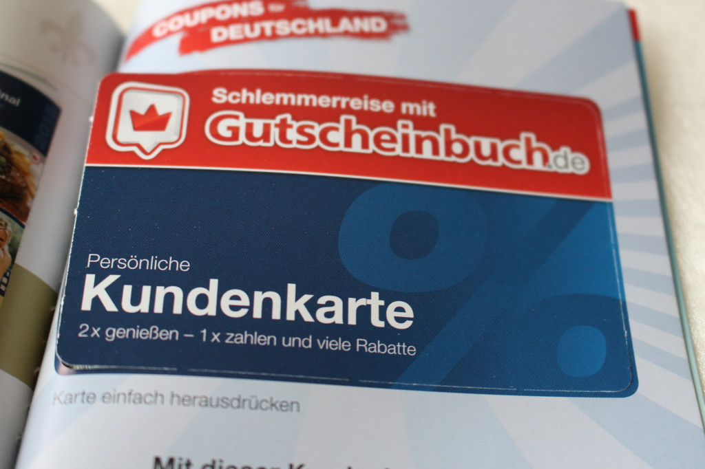 Kundenkarte: Gutscheinbuch.de