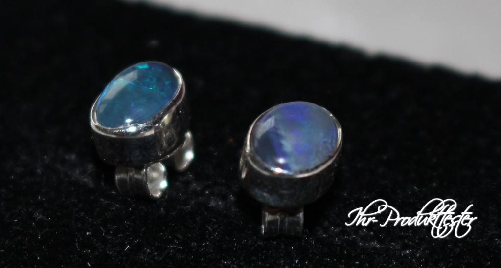 Opal Ohrrinnge von Opalschmuck