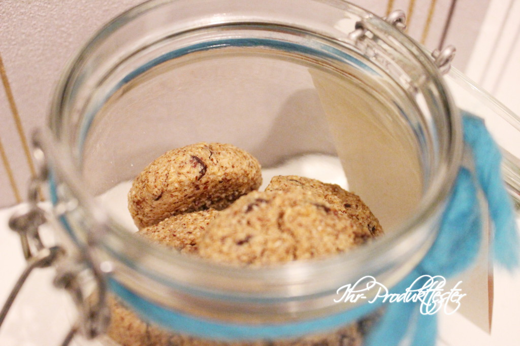 Vegane Cookies im Glas: Rezept und Geschenkidee