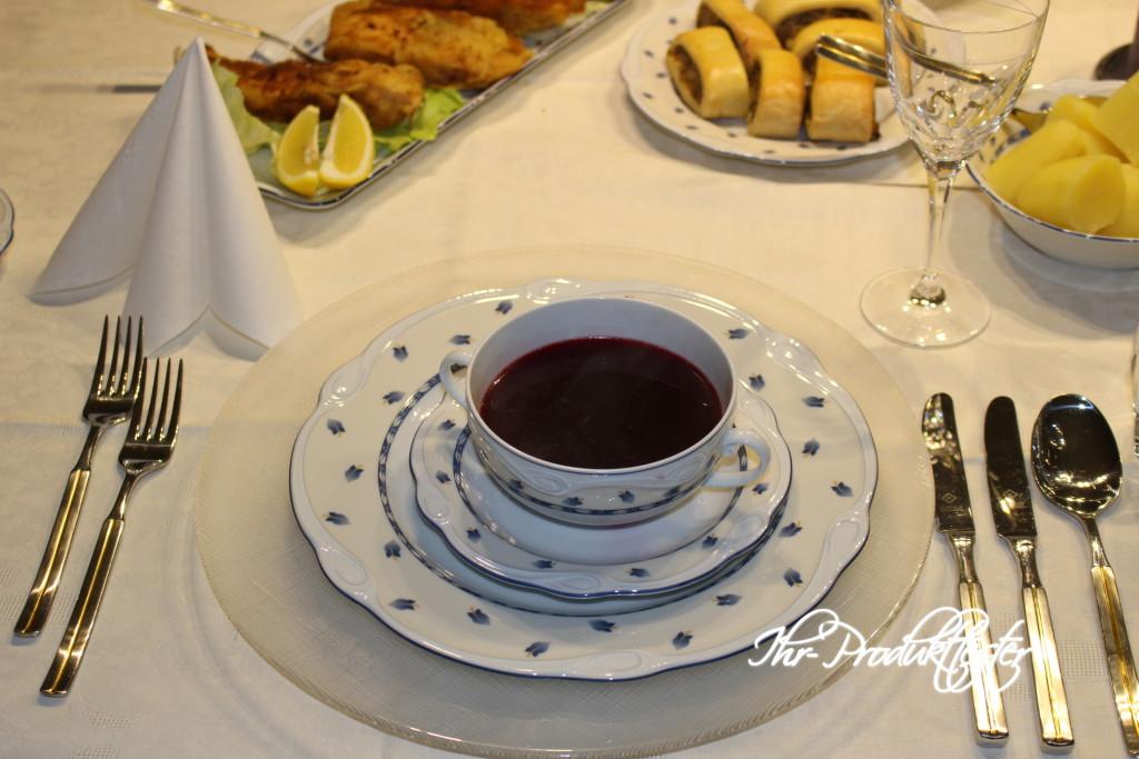Polnische Weihnachts-Küche: Rote-Bete-Suppe