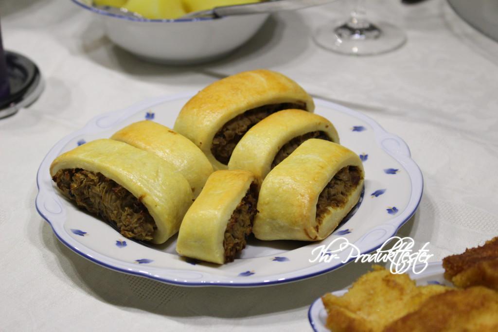 Polnische Weihnachts-Küche: Knusprige Pasteten (Paszteciki)