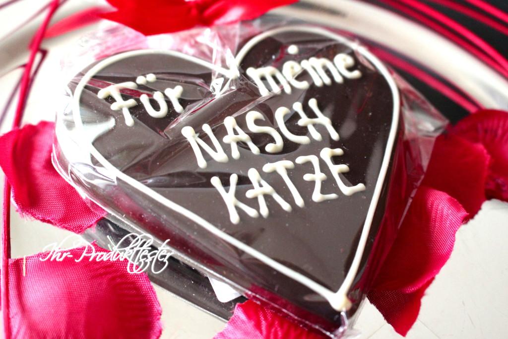 Marzipan-Herz mit Wunschtext: Test, Erfahrung