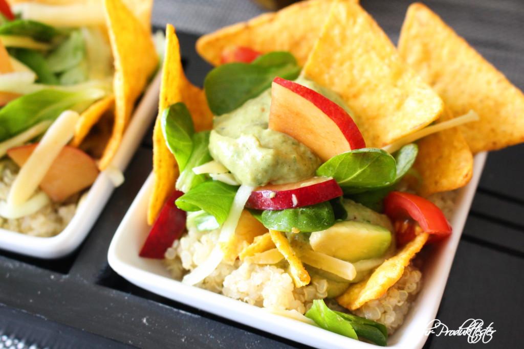 Frühlingssalat Quinoa Tacco: Rezept, Veggie