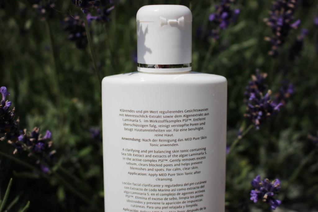 La mer Med Pure Scin Tonic: Test, Erfahrung, Inhaltsstoffe